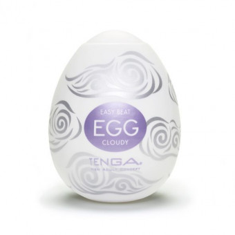 Мастурбатор яйцо Tenga Egg Cloudy (Облачный)